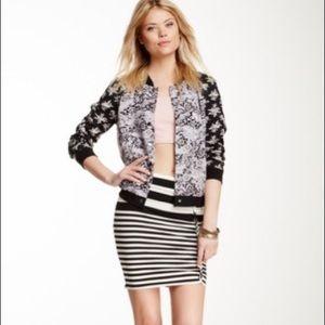 ❤️Free People Lots Knots Stripe Skirt